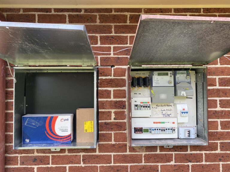 Electrical Meterbox Work