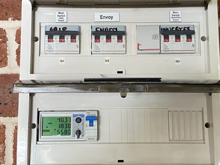 Production Meter Install – EM24