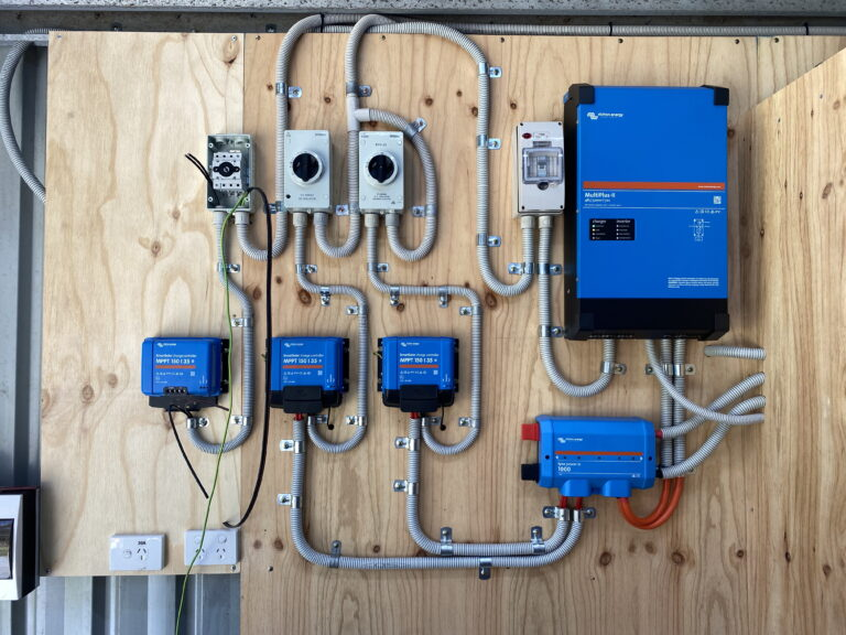 Adding more DC Solar Part 6 – Mounting the inverter