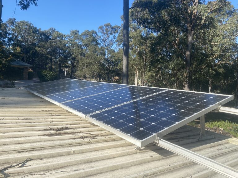 Adding more DC Solar Part 4 – Panel Install